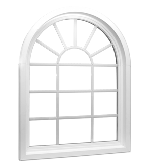 Architectural Shapes Window