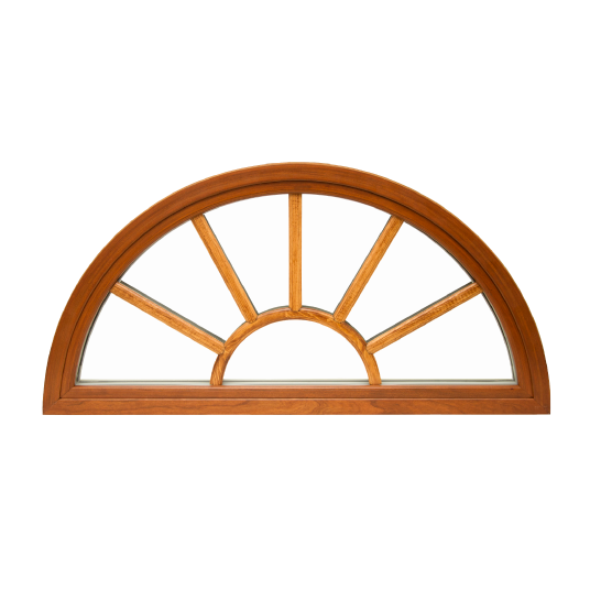 Aeris Wood with Vinyl Architectural Shapes Window