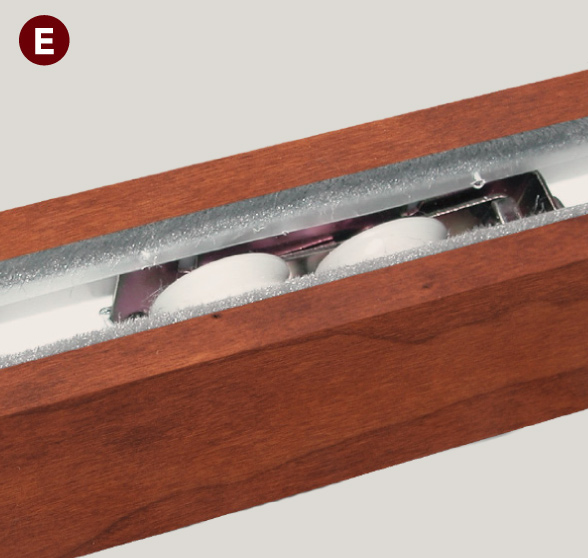 sliding system features