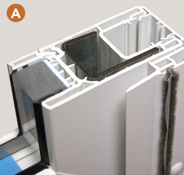 Aspect Galvanized steel reinforced panels