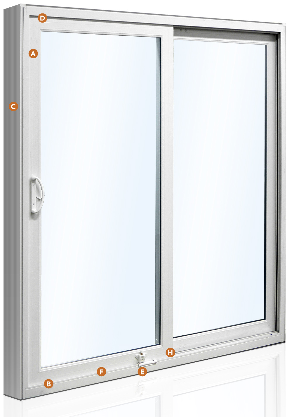 Aspect Patio door features
