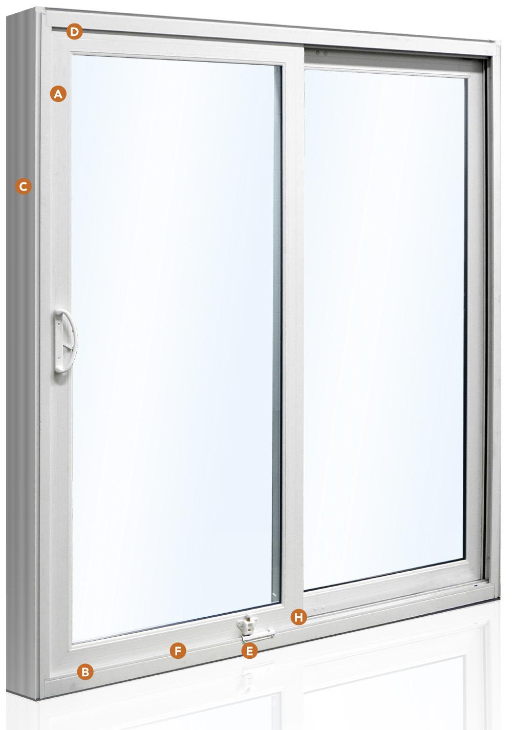 Aspect Patio door features