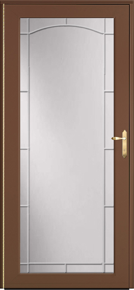 Decorator storm door 591
