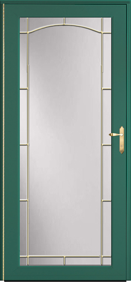Decorator storm door 591-B