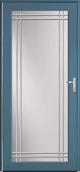 Decorator storm door 595-Z