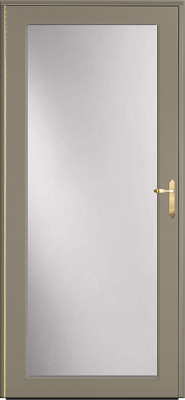Decorator storm door 590