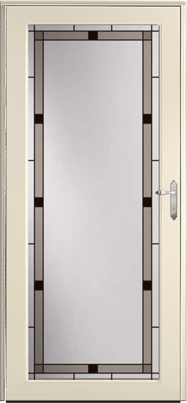Decorator storm door 590-VIN