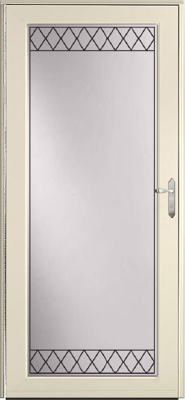 Decorator storm door 590-WES