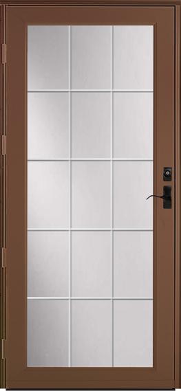382* Deluxe storm door