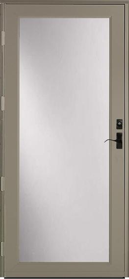 397* Deluxe storm door
