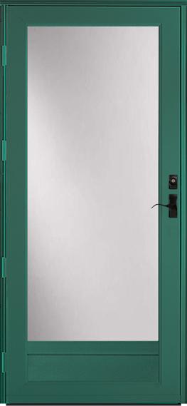 396 Deluxe storm door