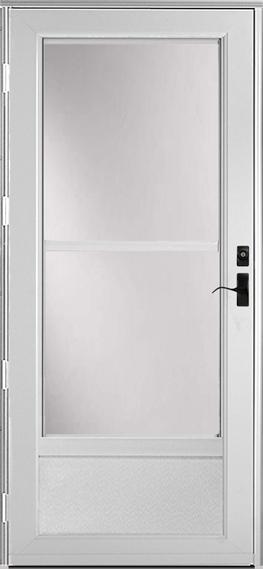 399* Deluxe storm door