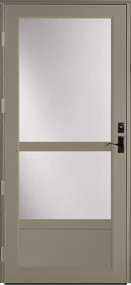 398 Deluxe storm door