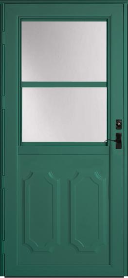 392 Deluxe storm door