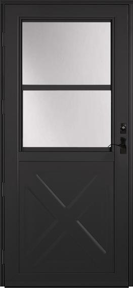 393 Deluxe storm door
