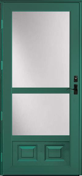 398-M Deluxe storm door