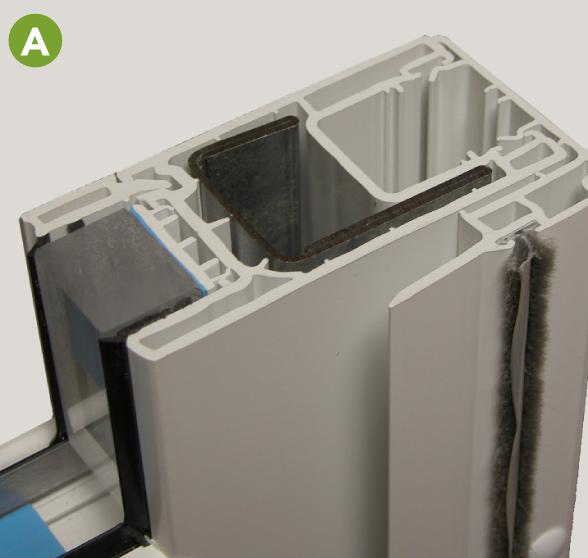 endure Galvanized steel reinforced panels