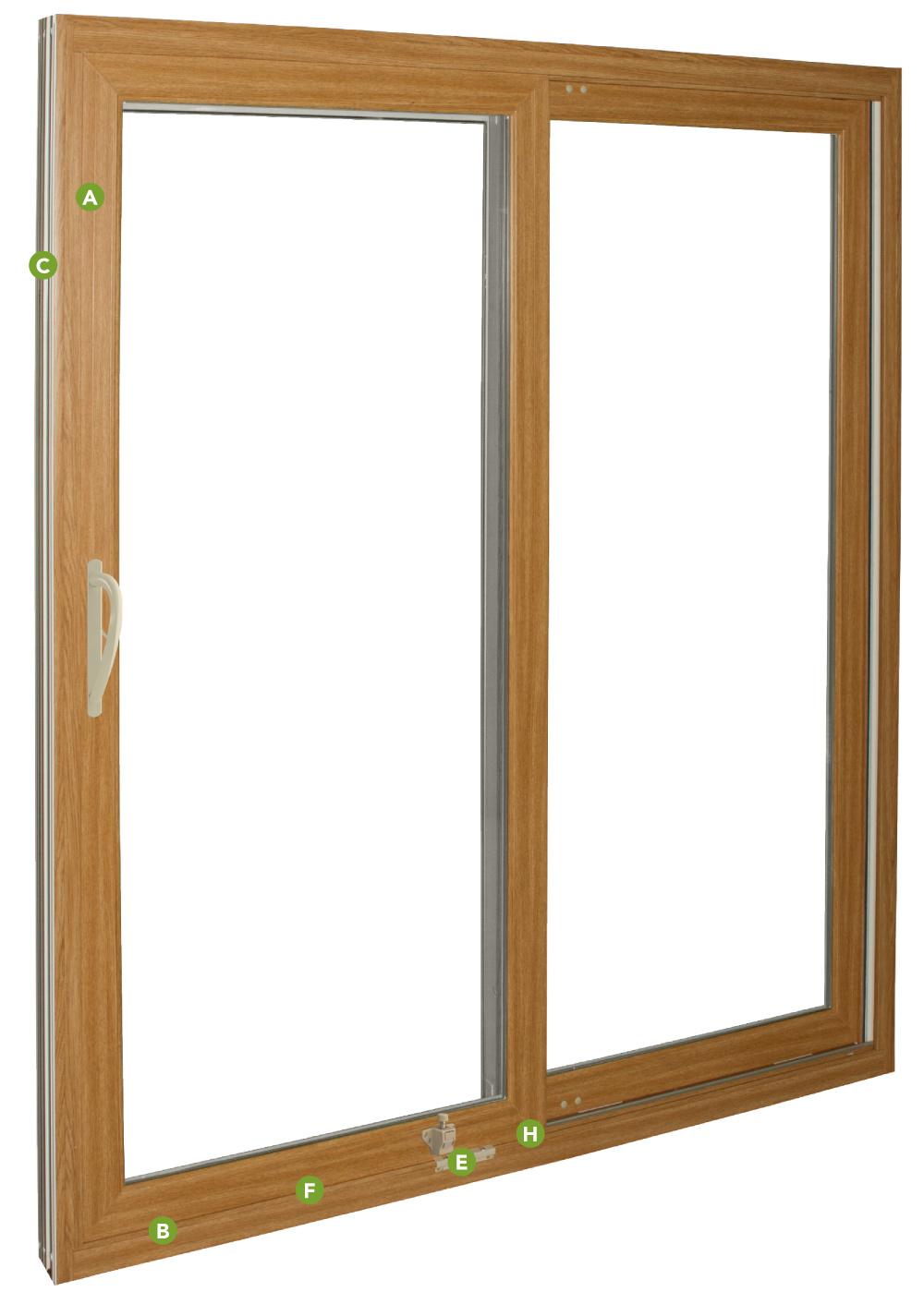 endure Patio door features