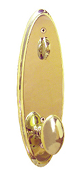 Gold Egg Knob