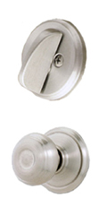 Georgian Knob and Lock