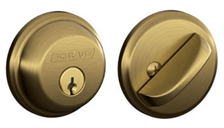 Standard Round Maximum Security Deadbolt