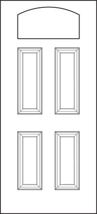 heritage Entry Door 419-4P