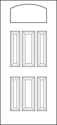 heritage Entry Door 419-6P