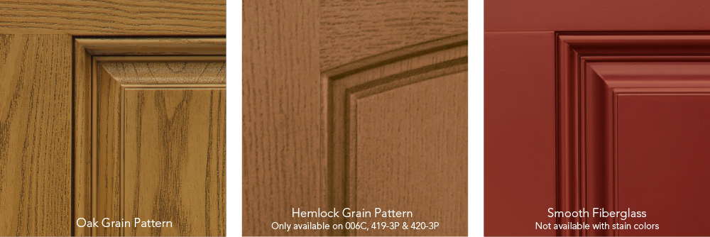 heritage entry door finishes
