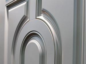 smooth fibreglass sample