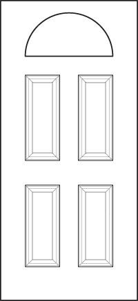 heritage Entry Door 400-4P