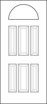 heritage Entry Door 400-6P