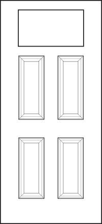 heritage Entry Door 420-4P