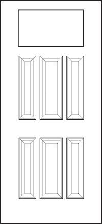 heritage Entry Door 420-6P