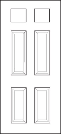 heritage Entry Door 206