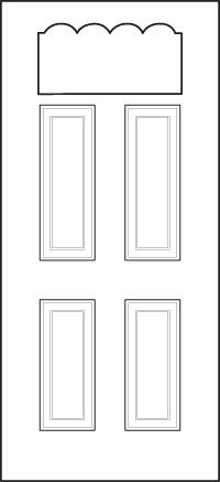 heritage Entry Door 410