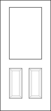heritage Entry Door 430-2P