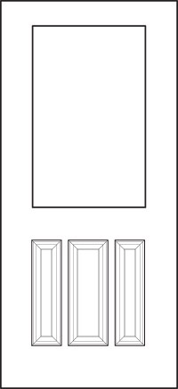 heritage Entry Door 430-3P