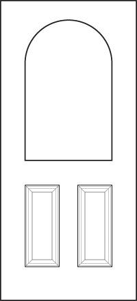 heritage Entry Door 439-2P