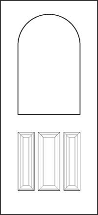 heritage Entry Door 439-3P