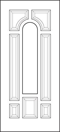 heritage Entry Door 243