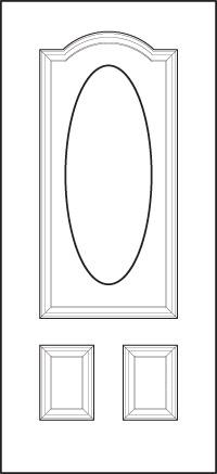 heritage Entry Door 150