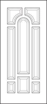 heritage 8' Doors 008P