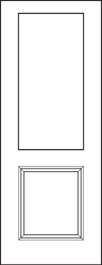 heritage 8' Doors 430-1P