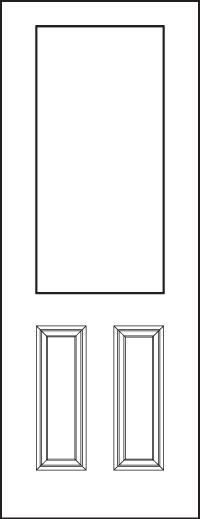 heritage 8' Doors 430-2P