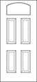 heritage Entry Door 419-4P thumbnail