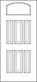 heritage Entry Door 419-6P thumbnail