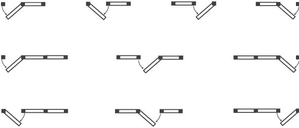 Door Swing Example