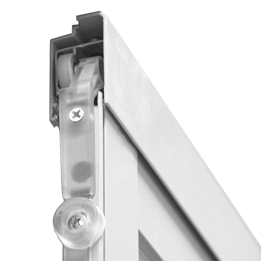 heavy-duty aluminum screen frame