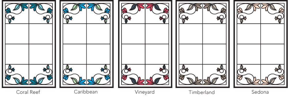 Inspirations Blossoms Color Palettes
