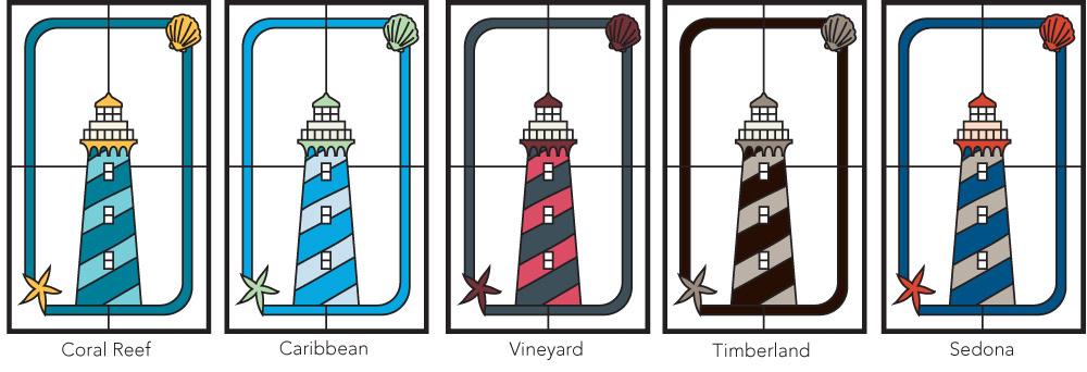 Inspirations Harbor Color Palettes